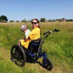 electric assist all terrain wheelchair
