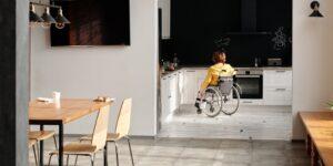 wheelchair accessible kitchen